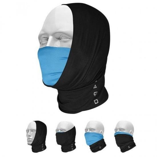 Pañuelo Bandana Multifuncional T-One Pro-Mask Negro Azul