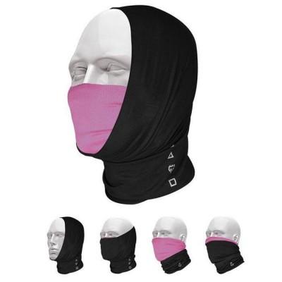 Pañuelo Bandana Multifuncional T-One Pro-Mask Negro Rosa