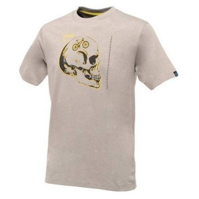Camiseta Manga Corta Dare2b Skull Cycle Gris