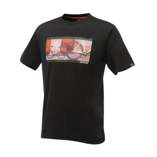 Camiseta Manga Corta Dare2b Single Speed Negra