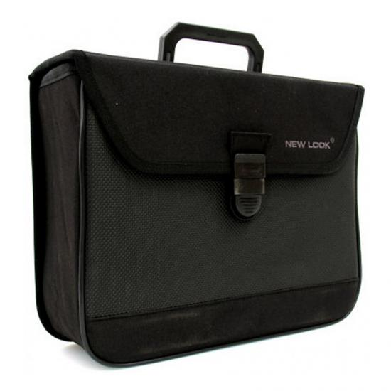 Alforja New Looxs 300 13l Impermeable Poliester Negro (36x26.5x14 Cm) - Imagen 1